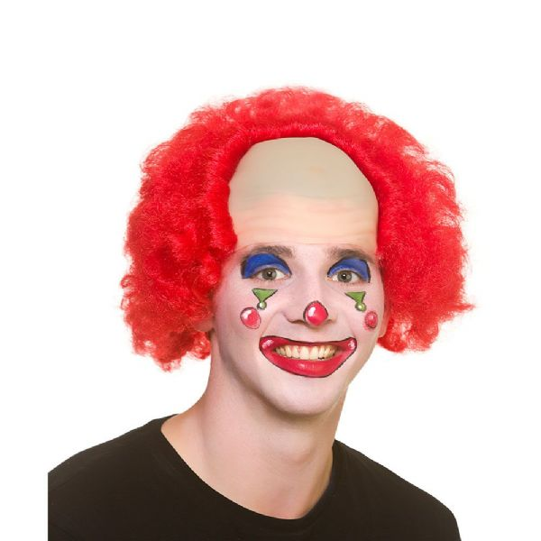 Funny Clown Wig Circus FunFair Parade Fancy Dress Cosplay